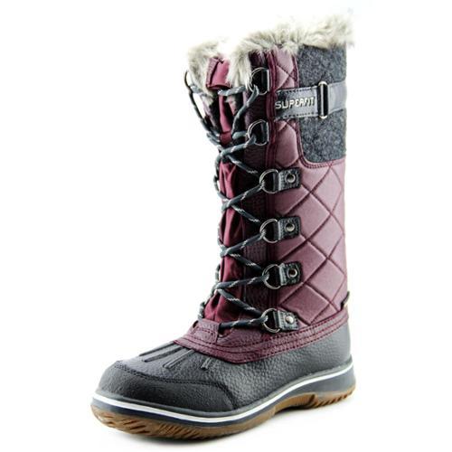 SuperFit Uma Women US 6 Purple Winter Boot