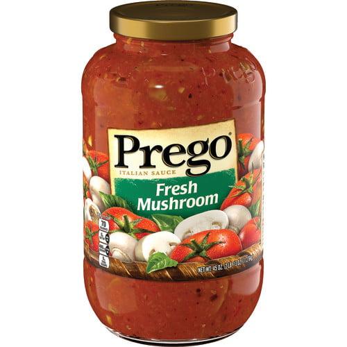 Prego Fresh Mushroom Italian Sauce, 45 oz.