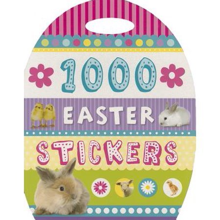 1000 Easter Stickers