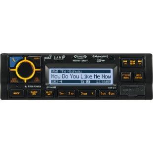Jensen JCV1640BTB AM FM WB USB iPod & iPhone SiriusXM-Ready Bluetooth Stereo by