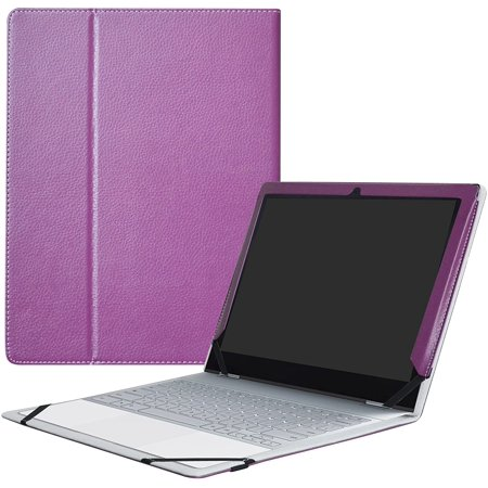 """Google Pixelbook Case,Mama Mouth PU Leather Folio Carring Cover for 12.3"""" Google Pixelbook (12.3 Inch HD IPS Touch) - image 1 of 5"""