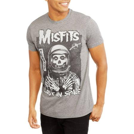 e58c465edd830 Music - Misfits Men s Lost in Space Graphic Tee - Walmart.com