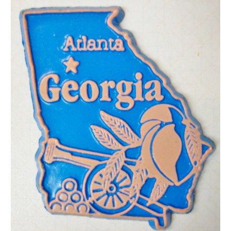 Georgia Atlanta United States Fridge Magnet