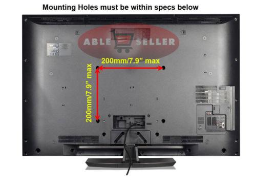 "Locking Articulating Tilt Swivel Arm LCD LED TV Wall Mount 26 27 32 36 37 40 42/"""