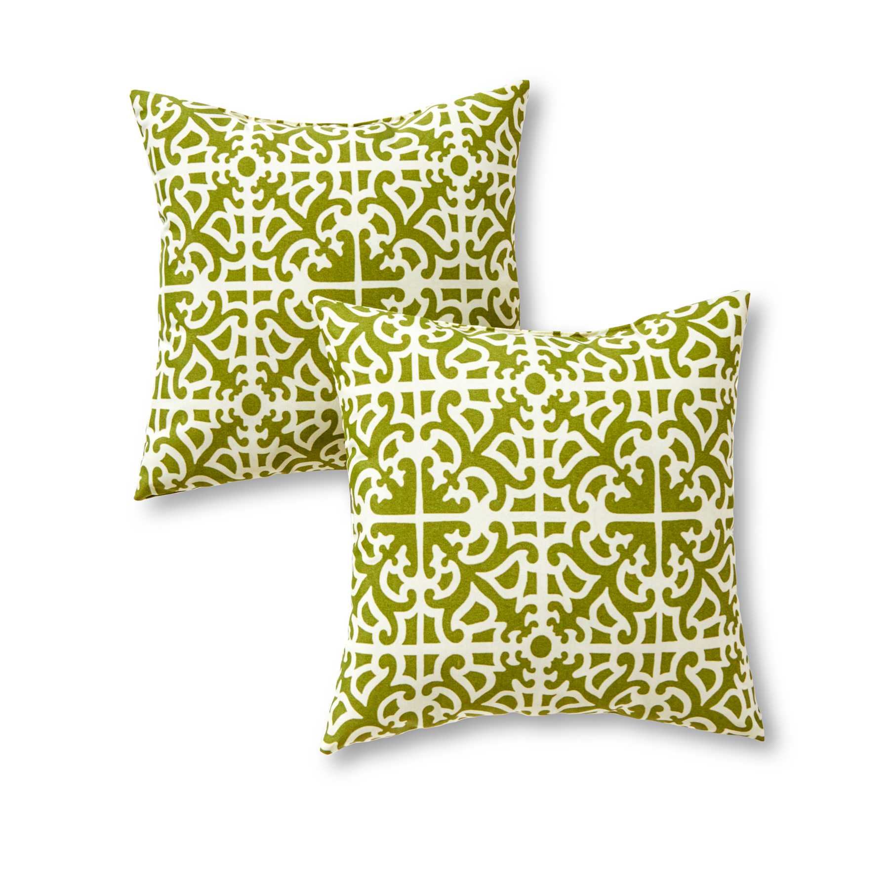 Greendale Home Fashions Lattice Outdoor Accent Pillow, Set of 2