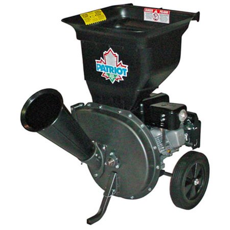 Patriot CSV-3065B 6.5 hp Gas Wood Chipper Leaf