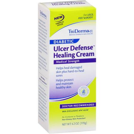 triderma md diabetic ulcer defense healing cream 4 2 oz. Black Bedroom Furniture Sets. Home Design Ideas
