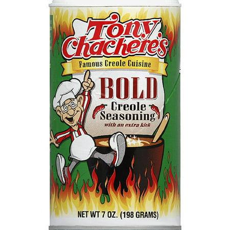 Tony Chacheres Bold Creole Seasoning  7 Oz   Pack Of 6