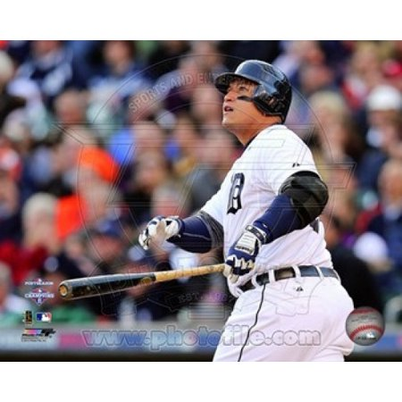 (Miguel Cabrera 2 Run Home Run Game 4 of the 2012 American League Championship Series Action Sports Photo)
