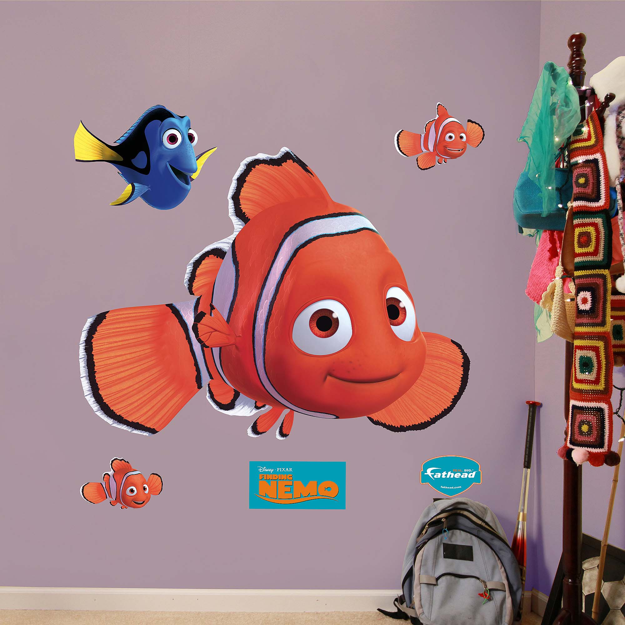 Finding Nemo Fathead - Walmart.com