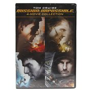 Mission Impossible 4 Movie DVD Collection by