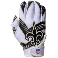 Franklin Sports NFL New Orleans Saints Youth Football Receiver Gloves