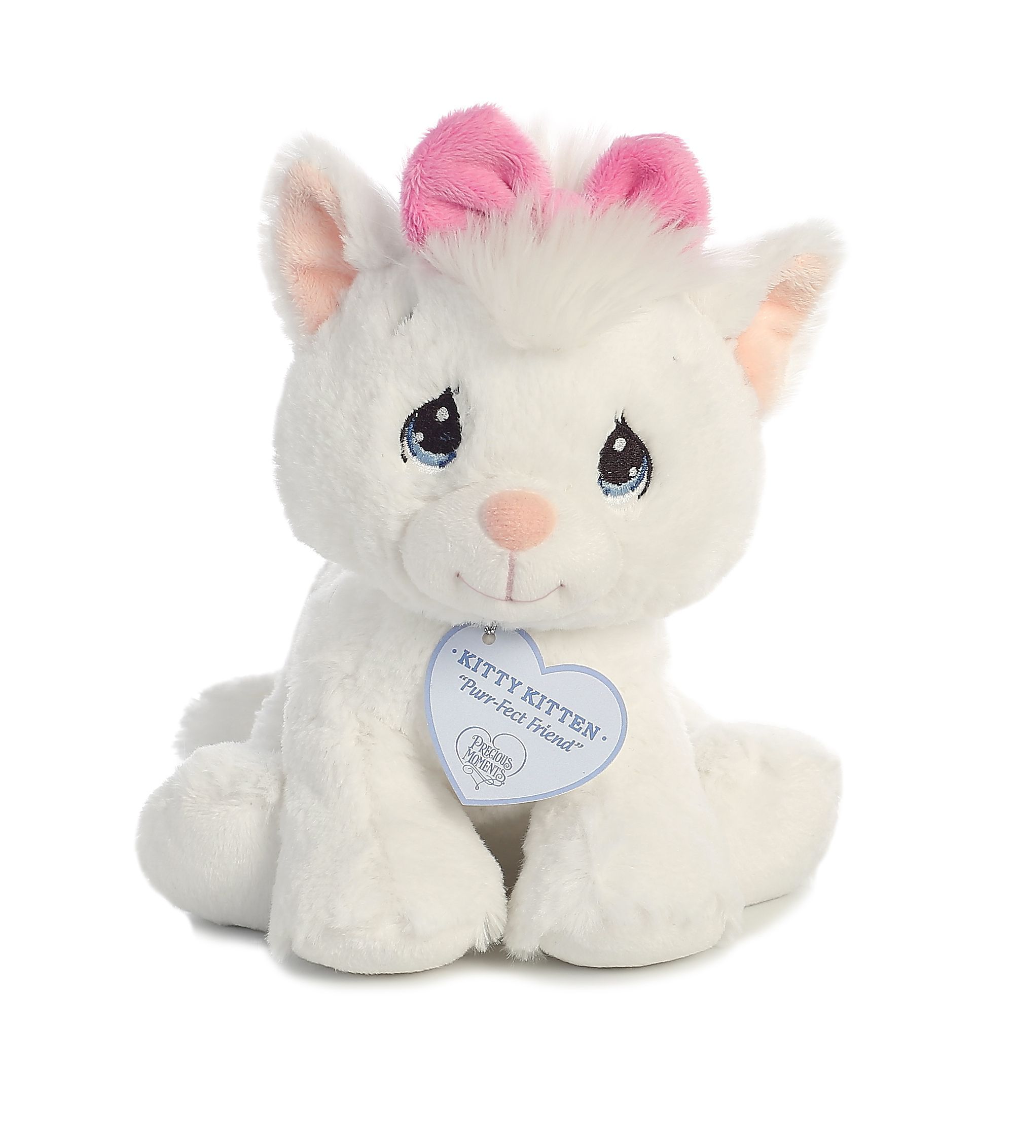 Kitty Kitten 8 inch Baby Stuffed Animal by Precious Moments (15708) by Precious Moments