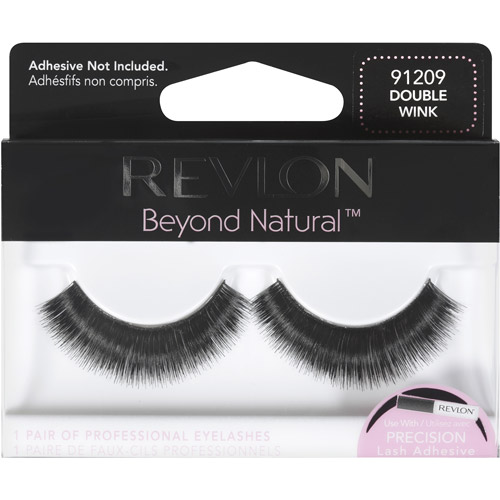 Revlon Beyond Natural Eyelashes, Double Wink, 1 pr
