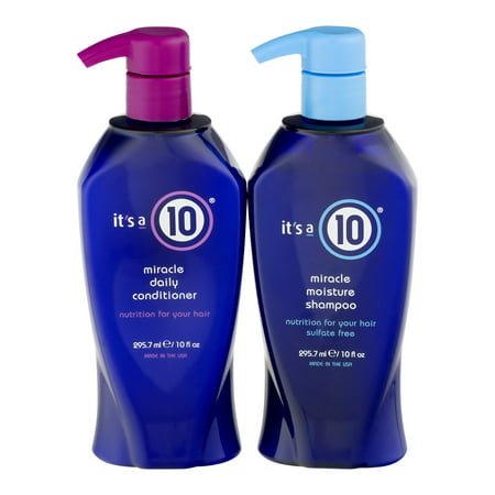 Its a 10 Miracle Moisture Shampoo & Conditioner Set, 10 Oz, 2