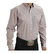 Stetson Western Shirt Mens Long Sleeve Button Red 11-001-0578-0480 RE