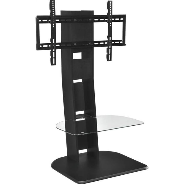 Ameriwood Home Galaxy Tv Stand With Mount For Tvs Up To 50 Black Walmart Com Walmart Com