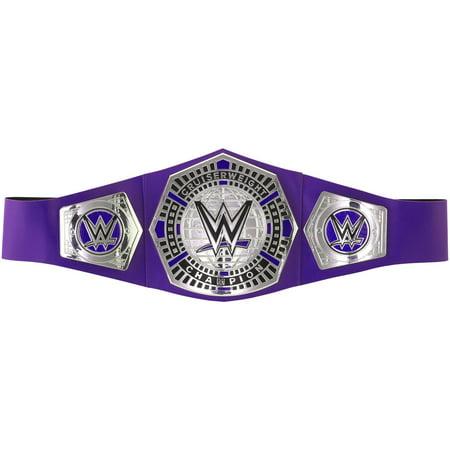WWE Cruiserweight Championship Title Belt with Authentic Details](Wwe 13 Halloween Havoc)