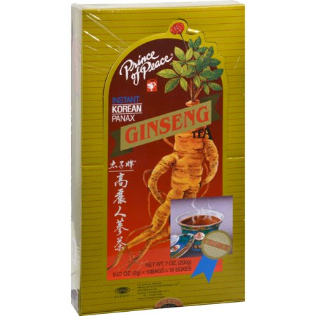 Instant Korean Panax Ginseng - Prince of Peace Instant Korean Panax Ginseng Tea - 100 Tea Bags