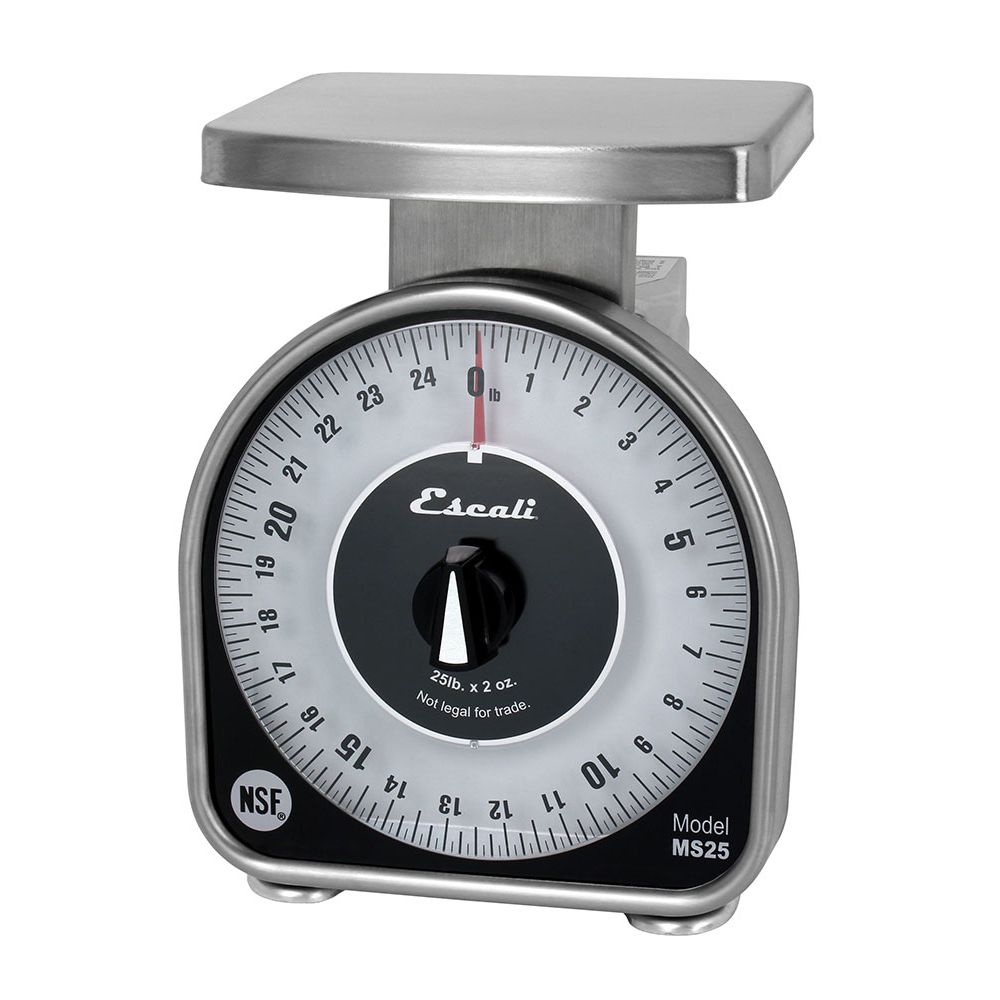 Escali MS25 MS-Series 25 Pound Mechanical Dial Scale