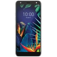 US Cellular LG K40 32GB Prepaid Smartphone, Charcoal Grey