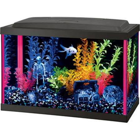 Aqueon neoglow aquarium kit rectangle for Rectangle fish tank