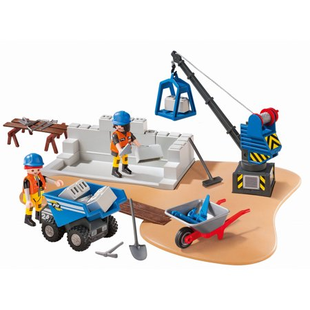 Playmobil Construction Site Superset