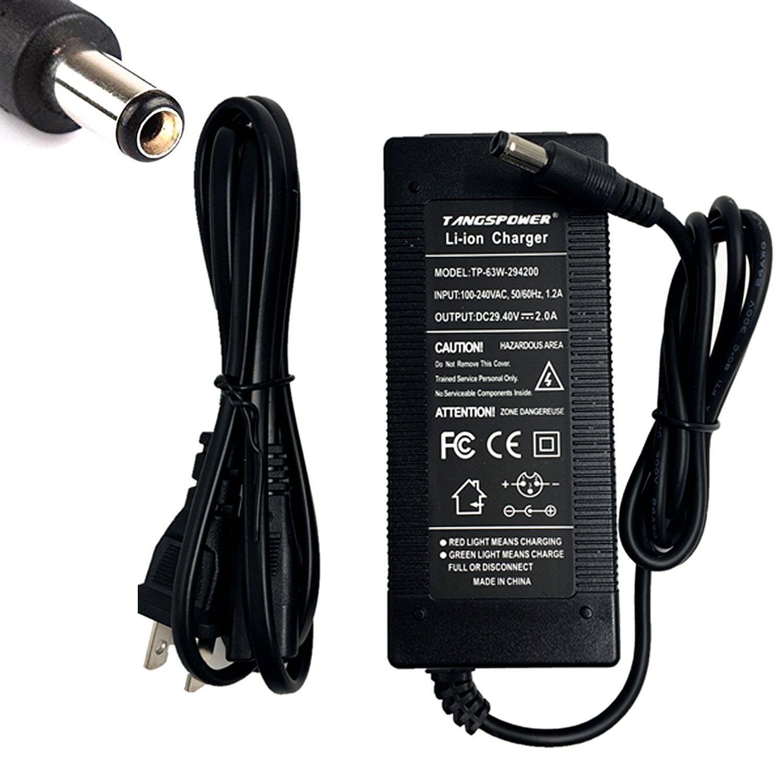 29.4V 2A Li ion Battery charger DC Port 25.2V 25.9V 24V 2A Charger for 7S Ebike charger