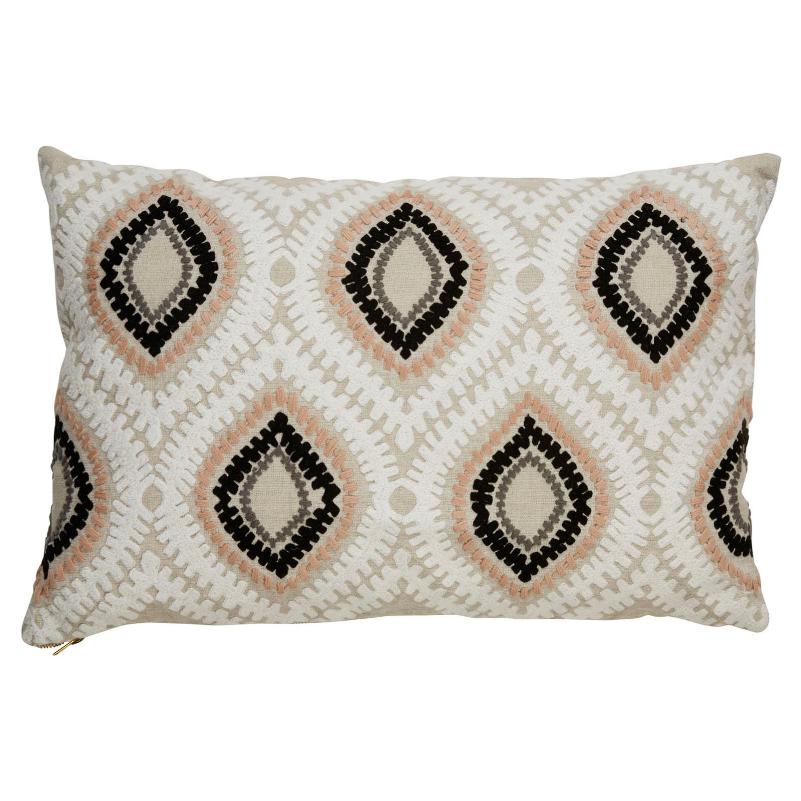 Nikkichu: Nikki Chu By Jaipur Tribal Linen Decorative Pillow