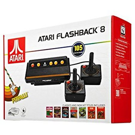 Atari Flashback 8 Classic Game Console 105 Built in Games
