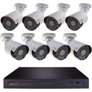 Q-See - H164K1.8 4K Ultra HD Security System w/ 8 Cameras & 4TB Hard Drive