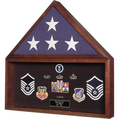 Star Legacy's Flag and Memorabilia Display Case