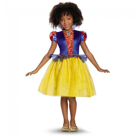 Girls Disney Snow White Classic Costume (Dragon Costumes For Girls)