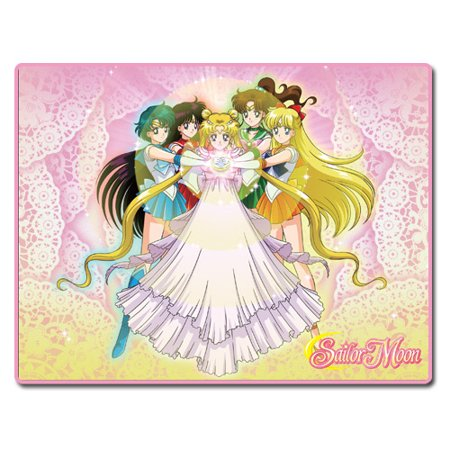 Great Eastern Entertainment Sailor Moon: Princess Serenity & Sailor Guardians Throw Blanket