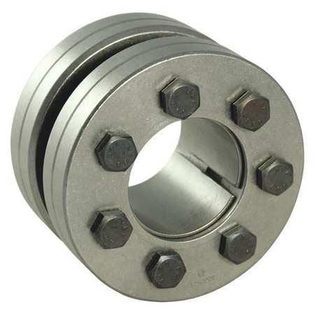 KeylessRigidCplg,C600 Ser,0.875 Shaftdia CLIMAX METAL PRODUCTS C600E-087