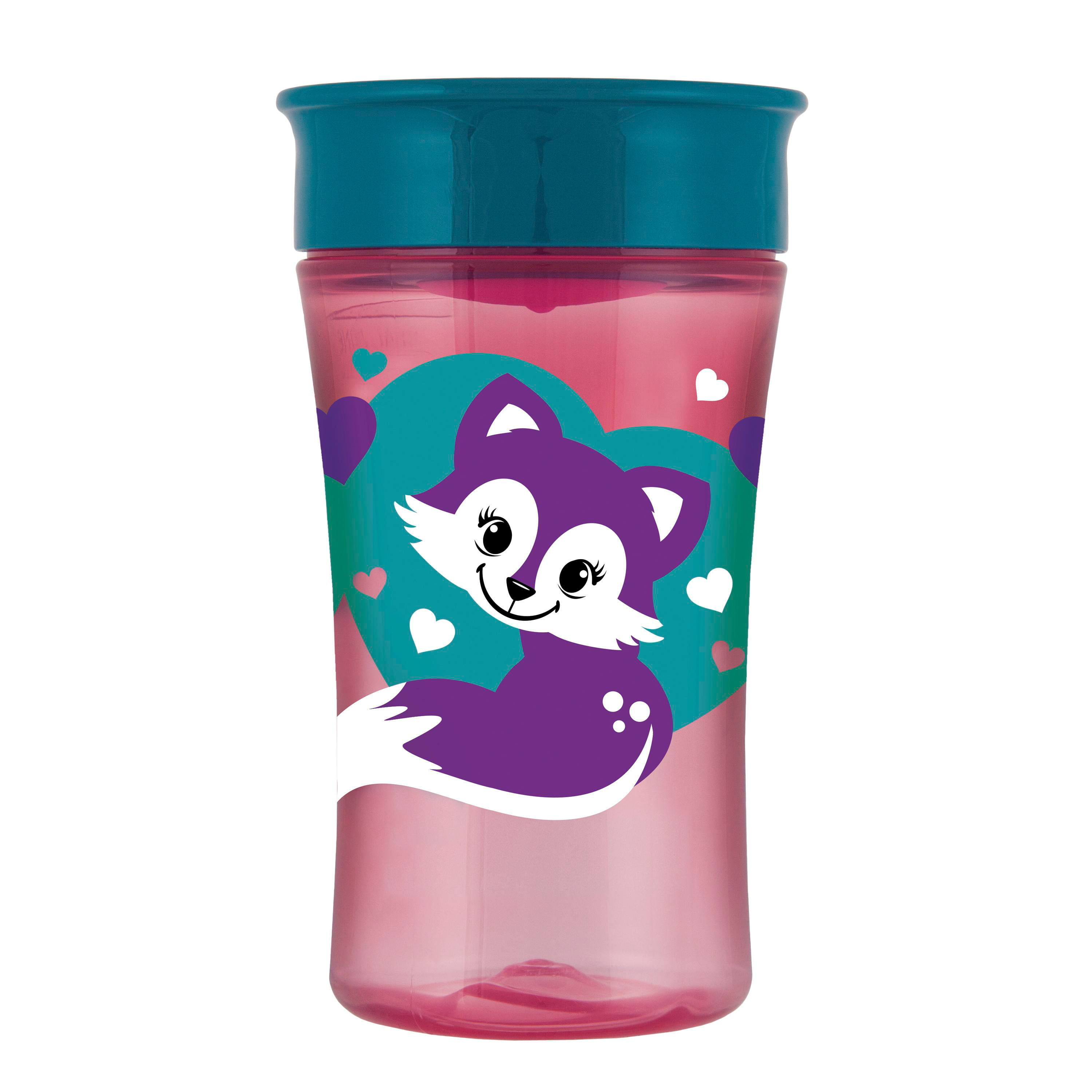 Mint Hedgehog 12+ Months BPA Free NUK Active Cup Drinking Cup Clip /& Protective Cap for Travelling Leak-Proof Drinking Spout 300 ml
