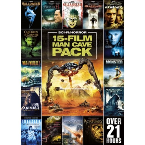 15-Movie Man Cave Sci-Fi Horror Pack, Vol. 1