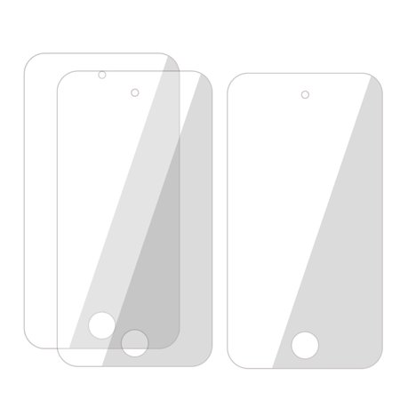 3pcs Screen Guard Film Cover for Apple iPod Touch 4 4G 4th Gen (Ipod 4 Front Screen)