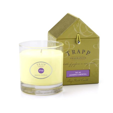 Trapp Candle Flowers - Trapp Fragrances No. 60 Jasmine Gardenia - 7oz. Poured Candle
