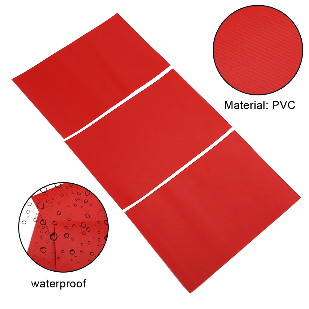 2pcs Waterproof Kayak Boat Raft Dinghy Canoe Repair Patch Material PVC