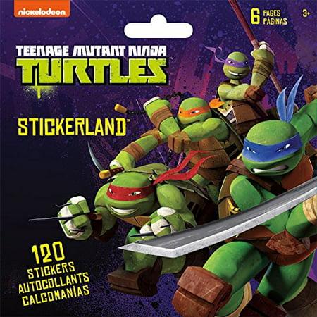 Stickerland Stickers Nickelodeon Teenage Mutant Ninja Turtles - 120 CT - image 1 de 1