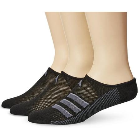 low priced 8160c 65a04 Adidas Socks - adidas Mens Superlite Super No Show Socks (3 Pack) -  Walmart.com