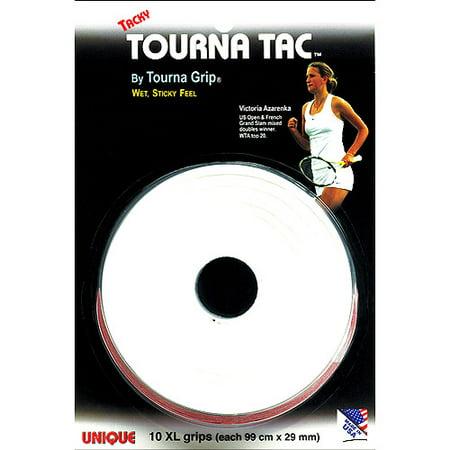 Tourna Tac Tennis Racquet Over Grip 10 XL Durable Overgrips Absorbent Tacky Feel
