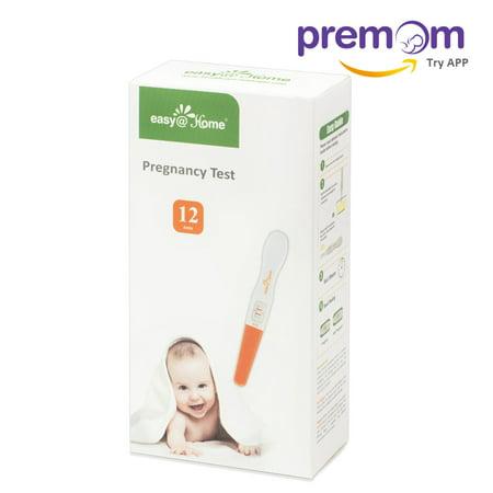 Easy Home Pregnancy Test Sticks   Hcg Midstream   12 Pack