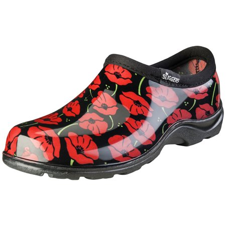 Sloggers Women's Waterproof Comfort Shoes - Red Poppies ()