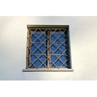 LAMINATED POSTER Grating Window Grate Window Grilles Old Poster Print 24 x 36