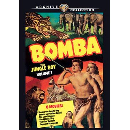 Bomba, The Jungle Boy Volume 1 (DVD) - Bombas Halloween