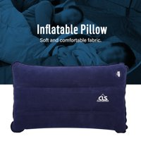 Inflatable Travel Pillow,HURRISE 2 Colors Outdoor Portable Folding Casual Inflatable Pillow for Camping Climbing Hiking