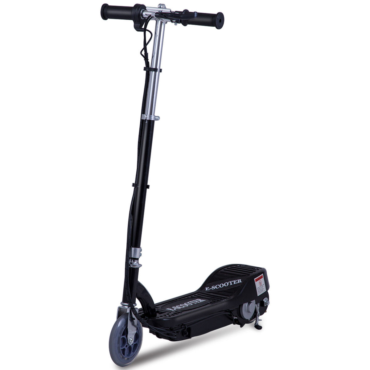 Gymax Foldable Rechargeable Electric Scooter Motorized Ride On Outdoor For Teens Black by Gymax