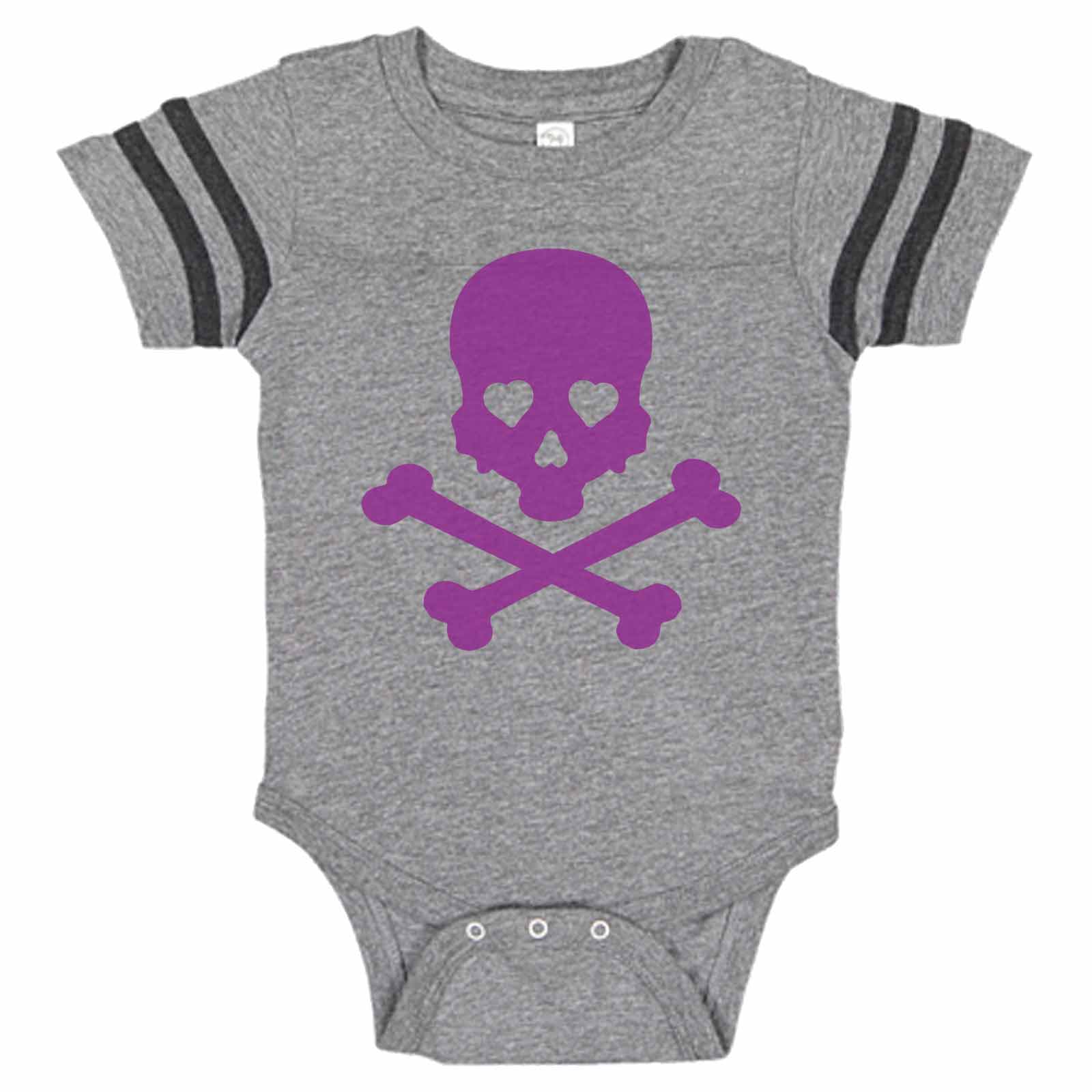 HappyLifea Skull Spider Baby Pajamas Bodysuits Clothes Onesies Jumpsuits Outfits Black
